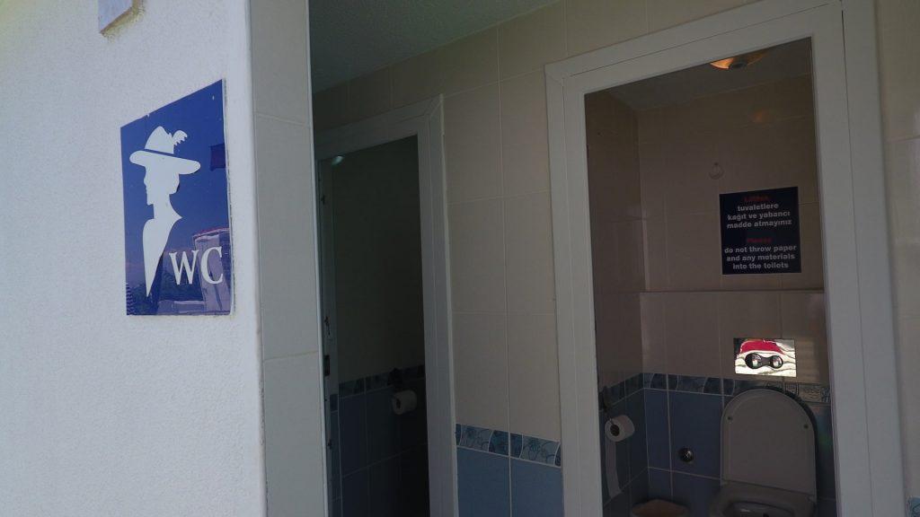 Hijyenik Duş ve Tuvalet Kabinleri